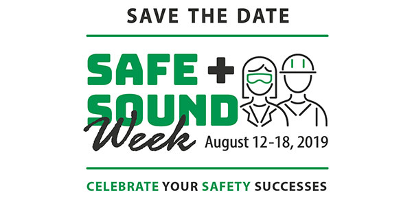 Safe and Sound Week image